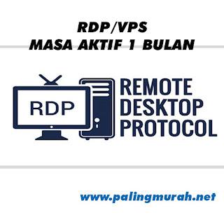 PROMO RDP / VPS 4 vCPUs RAM 8 GB FULL GARANSI 1 BULAN FULL
