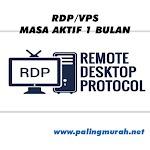 JUAL RDP / VPS 4 vCPUs RAM 8 GB FULL GARANSI 1 BULAN FULL