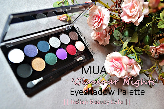 MUA Glamour Nights Eyeshadow Palette, Review, Swatches, Price, Buy Online, Photos