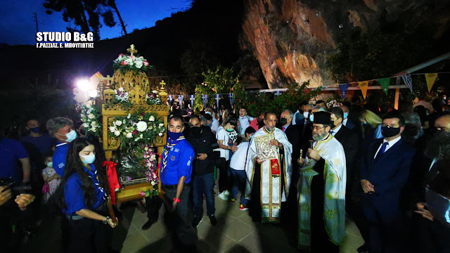 Λαμπρός εορτασμός στο Κεφαλάρι Άργους για την Ζωοδόχο Πηγή (βίντεο)