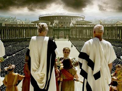 El emperador Cómodo, transido de gloria imperial