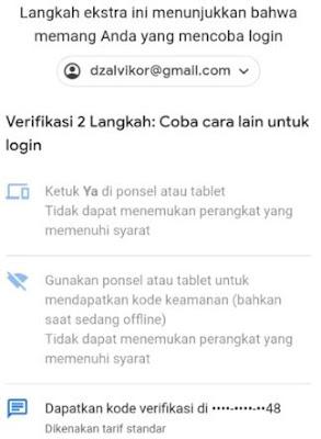 bypass verifikasi 2 langkah
