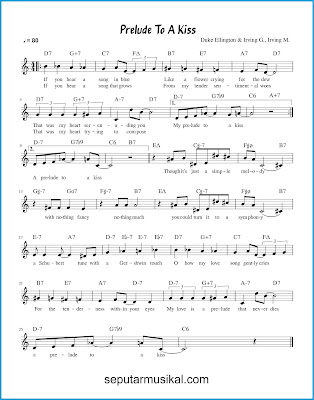 Prelude to a Kiss chords chords jazz standar