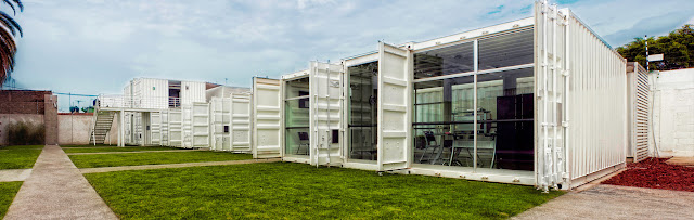 La Secundaria Valladolid - Modular Shipping Container School, Mexico 9