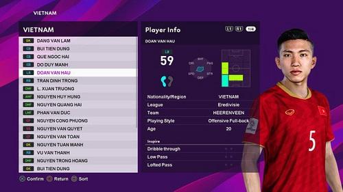 Đoàn Văn Hậu - cầu thủ việt nam mới nhất hiện thời, sau khoản thời gian chuyển hẳn sang Hà Lan thi đấu