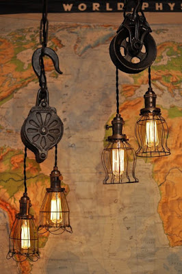ideias criativas de luminárias