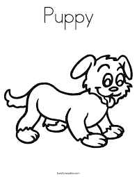 Best Images Of Puppy Coloring Sheet For Free Online Printable