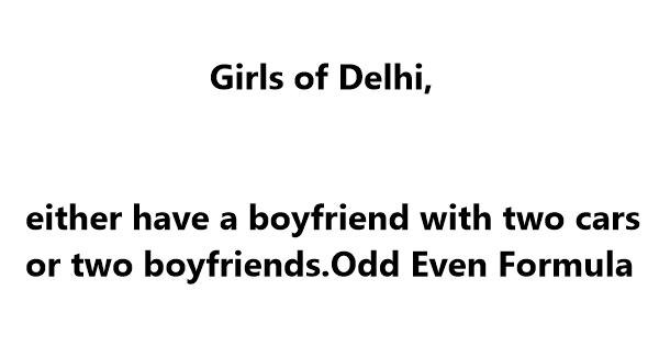 jokes on odd even formula in delhi by kejriwal