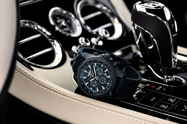 Breitling for Bentley introduces Bentley GT Dark Sapphire Edition Watch