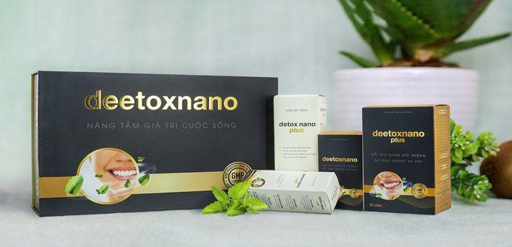 Deetox Nano trị hôi miệng có tốt hay không ? Công dụng? Giá Bán Bao Nhiêu? Mua Ở Đâu?