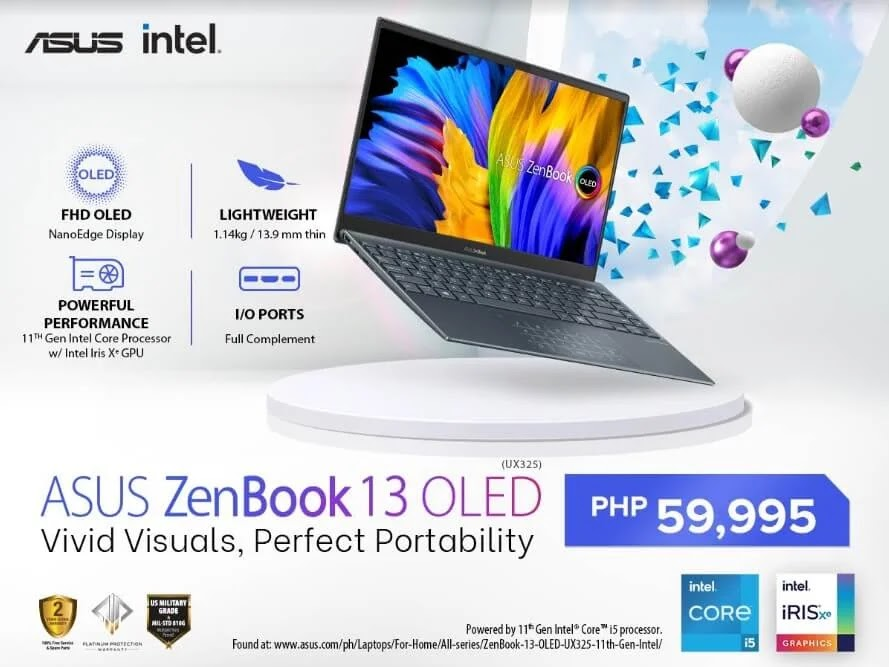 ASUS ZenBook 13 OLED Unveils in the Philippines; Yours for Only Php59,995