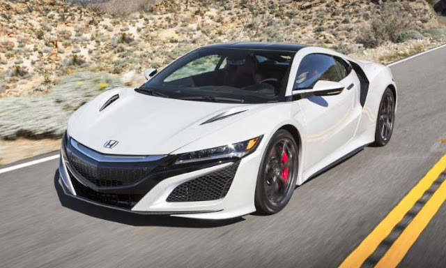 First drive: the brand-new Honda NSX