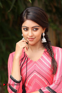 Actress Anu Emmanuel Pictures at Majnu Success Meet  0004.JPG