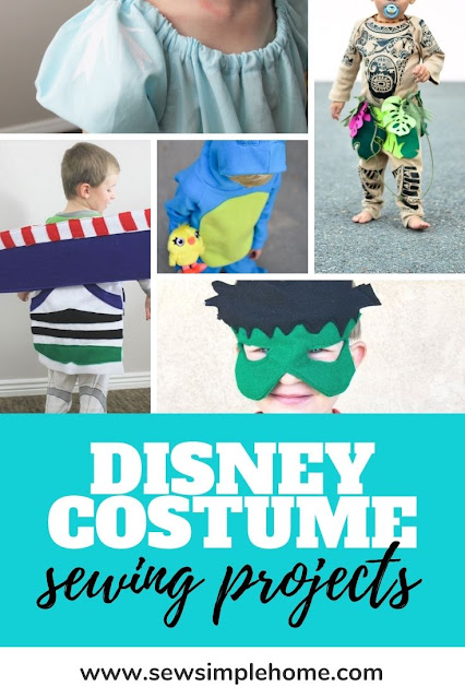 Sew up or craft together a DIY Disney costume with one of these 25 plus tutorials.