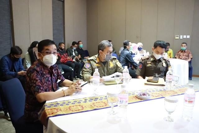 Komite Penanganan Covid-19 dan Pemulihan Ekonomi Nasional (KPCPEN), Kominfo dan Pemprov Lampung Gelar Pertunjukan Virtual Kesenian Tradisional