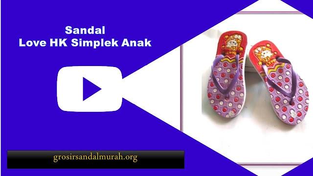grosirsandalmurah.org-Sandal Anak-Ab Love HK Simplek Anak