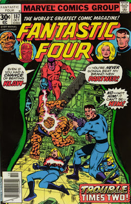 Fantastic Four #187, Klaw and the Molecule Man