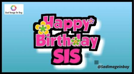 Happy Birthday Sister Images | sisters quotes images, happy birthday sister gif funny, 70th birthday meme, sister love images