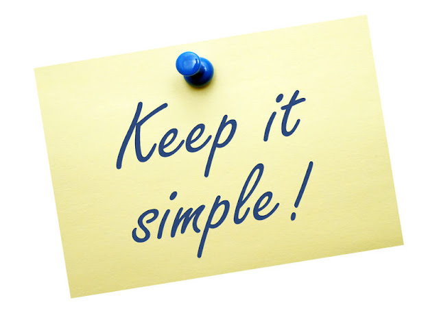 Keep it Simple! But Significant!!