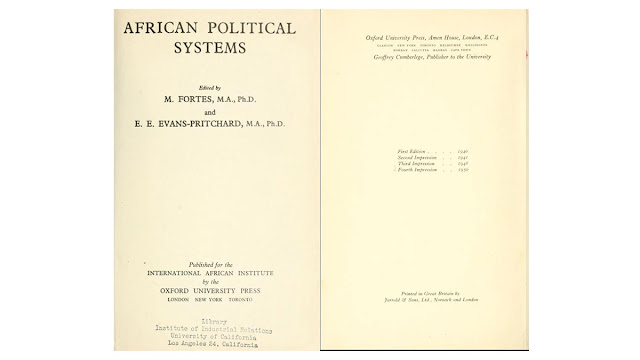 PDF African Political Systems by M Fortes