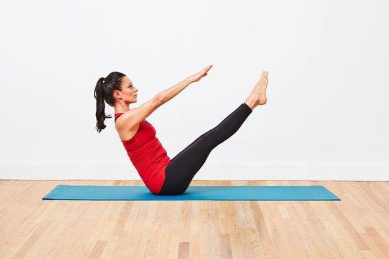 10. V-sit Ab Exercise