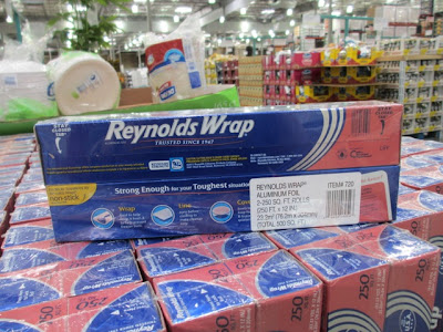 2-pack of aluminum foil at Costco