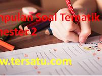 Soal Soal Ulangan Harian Kelas 1 Tematik Tema 5 6 7 8 Semester 2 Kurikulum 2013