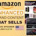 Je vais créer un contenu de marque amélioré pour amazon ebc : un plus