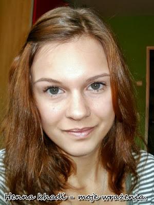 Karolina W zdjęcie sprzed hennowania
