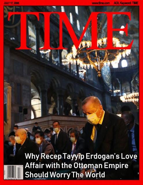 Kekhawatiran Negara Barat Akan Kemungkinan Erdogan Mengembalikan Kejayaan Ottoman Empire