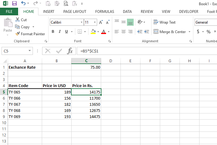 The Currency Converter In Excel