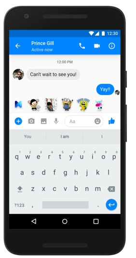 Facebook M digital assistant