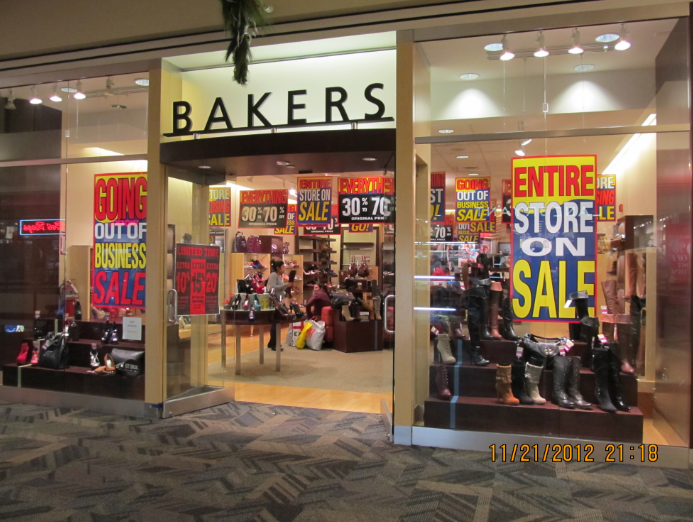 Bakers Shoes Store Locations