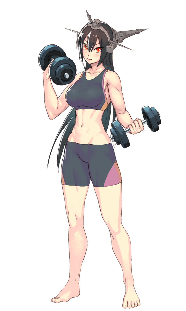 kancolle working out