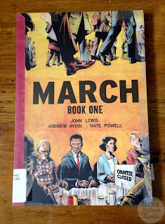 March Book One cover photo