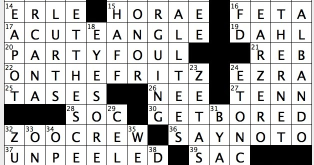 Rex parker does the nyt crossword puzzle chess situation for Soil 8 letters crossword clue