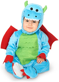 Mighty Tiny Dragon Infant Costume for Halloween