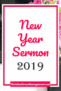 2019 New Year Sermon