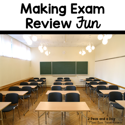 Make exam review fun for your students, but full of academic rigor with these 8 great tips from the 2 Peas and a Dog blog.