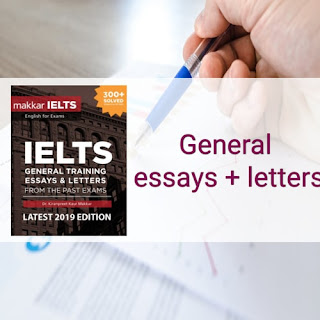 Makkar IELTS  General training essays:Download pdf 2020 edition