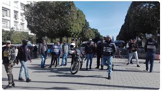 شارع الحبيب بورقيبة/ افتكاك سلاح ناري لعون امن