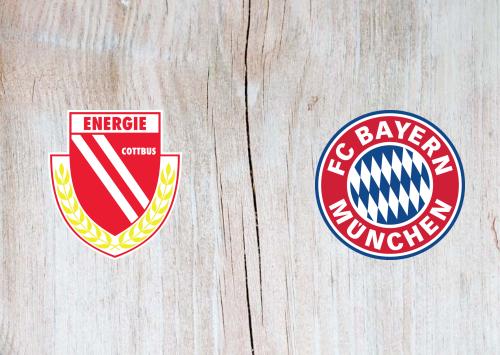 Energie Cottbus vs Bayern München -Highlights 12 August 2019