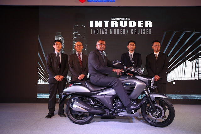 Suzuki Two-Wheelers cruises in with 155cc INTRUDER – India's modern-cruiser