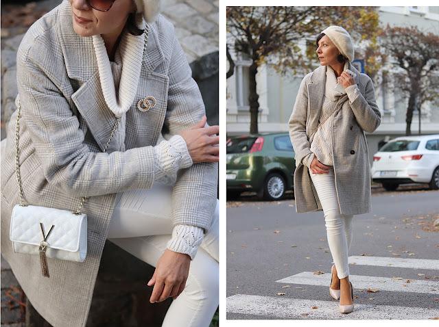 wełniany płaszcz stylizacje