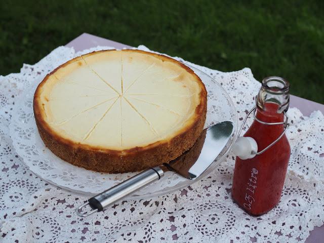 paistettu juustokakku