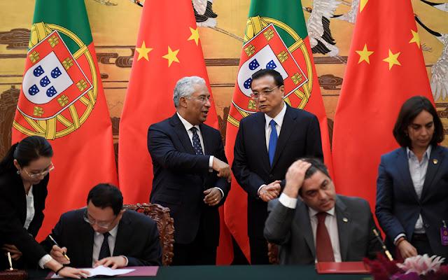 """UE e EUA tentam evitar """"invasão"""" da China enquanto Portugal 'escancara' as portas"""
