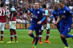 Cuplikan Gol West Ham vs Leicester 1-1