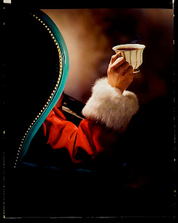 Imagen : Papá Noel toma café - Feliz Navidad