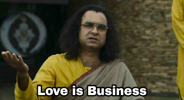 Sacred Games Pankaj Tripathi Guruji Love is Business