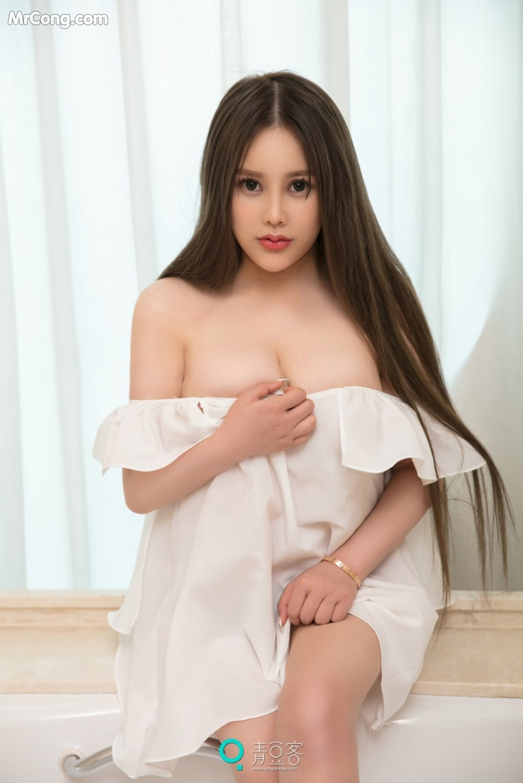 Image QingDouKe-2017-10-04-Ni-Shi-Yin-MrCong.com-007 in post QingDouKe 2017-10-04: Người mẫu Ni Shi Yin (倪詩茵) (51 ảnh)